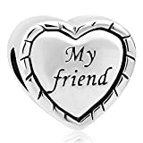 Best Pandora Friend Heart Charms - DemiJewelry My Friend Charms Today Heart Beads Review