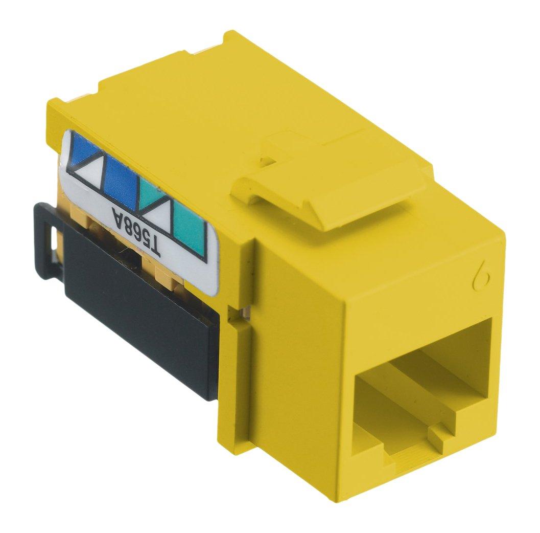 Bryant Electric NSJ6Y Data Yellow Cat-6 Jack