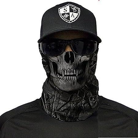 Halloween mask. motorbike skiing A.S98 SA Fishing Company face shield balaclava neck warmer paintball bandana face mask