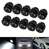 iJDMTOY Xenon White 30W High Power Flexible LED Lighting Kit For Daytime Running Lights or Under Car Puddle Lights