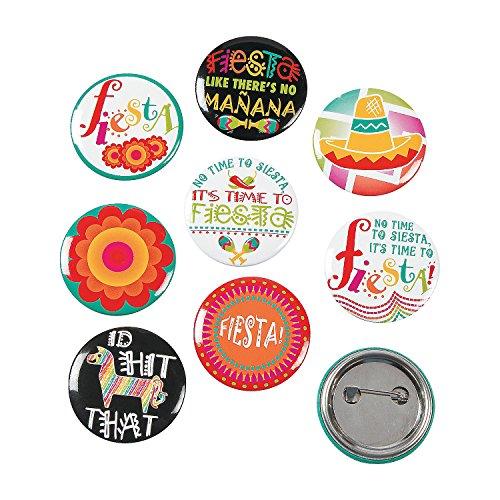 Fun Express Mini Fiesta Buttons Party -