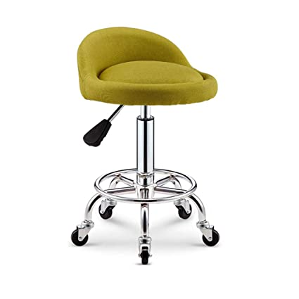 Sensational Amazon Com Adjustable Rolling Swivel Office Stool With Ocoug Best Dining Table And Chair Ideas Images Ocougorg