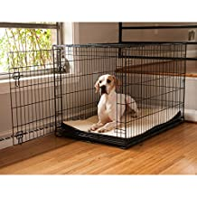 Snoozer 66020 11 by 19-Inch Foam Pet Crate Pads and Mats in 2 Sizes, Navy