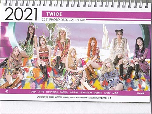 Pictures of Twice 2021 Calendar