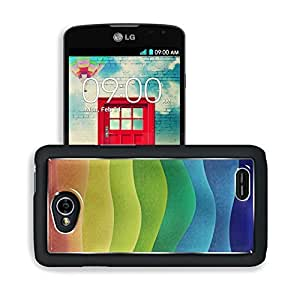 Abstract Multi Color Mosaic Rainbows LG Optimus L70 Dual D325 Snap Cover Premium Aluminium Design Back Plate Case Open Ports Customized Made to Order Support Ready 5 2/16 Inch (130mm) X 2 12/16 Inch (70mm) X 11/16 Inch (17mm) MSD L70 Professional Cases Ac