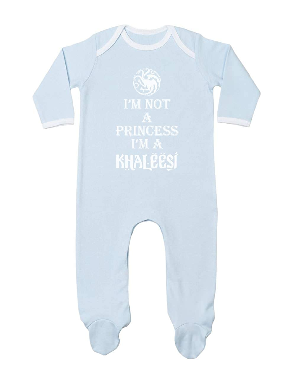 Mono Enterizo bebé - I'm Not A Princess I'm A Khaleesi - Idea de Regalo para Niña Recién Nacida a139096dg_ies