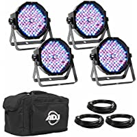 Amercan DJ Products Mega Flat pak Plus LED Lighting (New Version) ProSoundGear Authorized Dealer