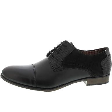 huge selection of 9c2f5 b279d Amazon.com: Bugatti 15805 Mens Shoes Black: Clothing