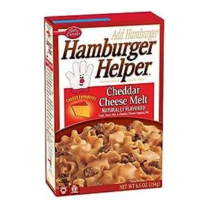 Amazon Com Hamburger Helper Cheddar Cheese Melt 6 5