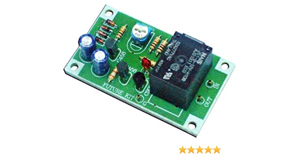 Speaker Protection Board Component Audio Amplifier with DC Protection  NEU.