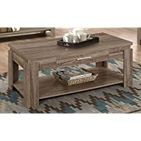 ACME Furniture 83287 Xanti Sofa Table, Dark Taupe