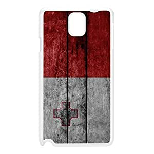 Grunge Wood Flag of Malta - Maltese Flag - Bandiera ta