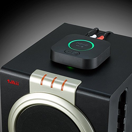 Bluetooth APT-X Hi-Fi Receiver and Audio Adapter, with 3D Surround and DSP, Low Latency for Home Music Stereo Streaming by REIIE by REIIE (Image #2)