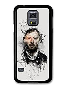 Radiohead Tom Yorke Illustration case for Samsung Galaxy S5 mini by runtopwell