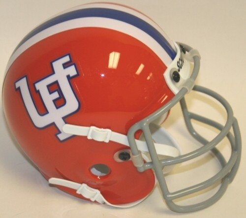 Florida Gators 1971-75 Throwback Authentic Schutt Mini Football Helmet (Florida Gators Throwback Helmet)