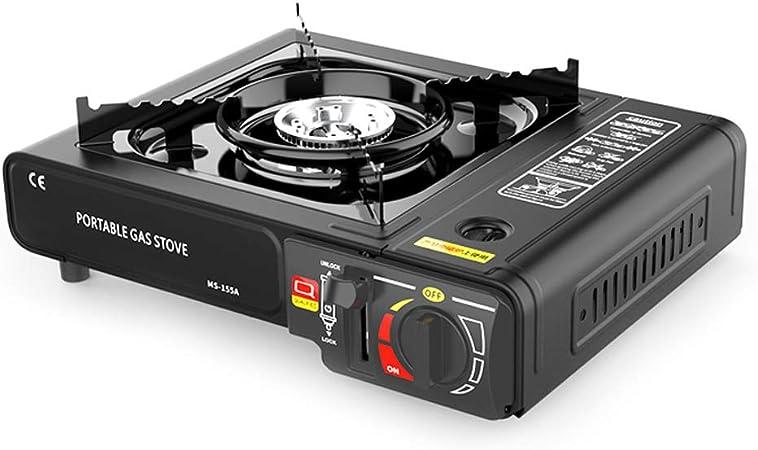 Lixada Cocina Gas Portatil para Camping Mini Cassette Estufa ...