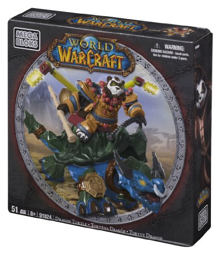 Image of Mega Bloks World of Warcraft Dragon Turtle and Windpaw