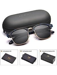 Men Women Clubmaster Polarized Sunglasses:UV 400...