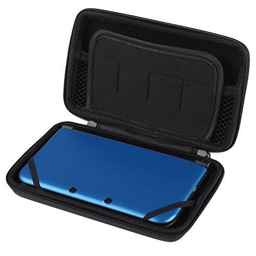 Funda Carcasa Caja Negra EVA Negro Case Black Para Nintendo 3DS XL