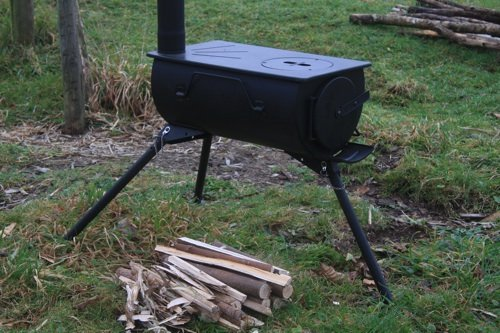 verbesserte Outdoor Camping Holzofen Set TM DWD Neue