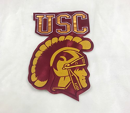 (USC Trojans New Big Embroidered Patch 6.8