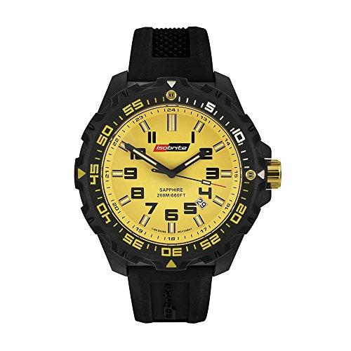 Isobrite ISO303 Valor Series Black/Yellow T100 Tritium Watch