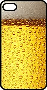 Frosty Glass Of Coors Beer Black Plastic Case for Apple iPhone 4 or iPhone 4s