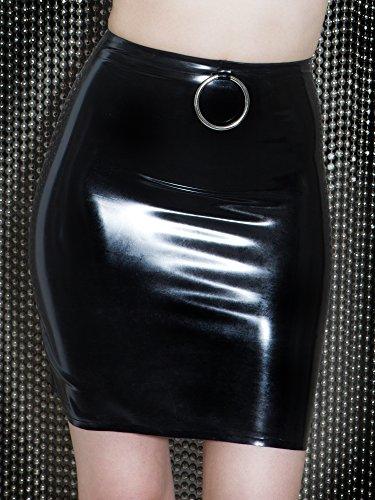 Ring O Skirt 10 s Nero Latex Captivate Uk Honour BFwnqtfvE