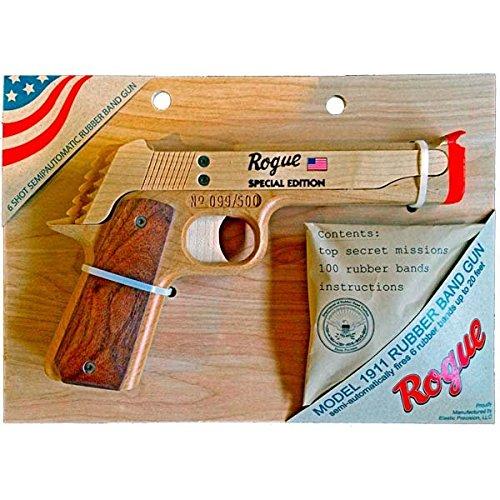 Elastic Precision Rogue Special Edition Model 1911 Rubber Band Gun