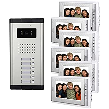 Amazon.com: AMOCAM Video Intercom Doorbell System, 7\