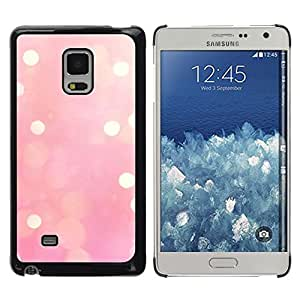 FlareStar Colour Printing Pink Lights Blurry Yellow Winter Love cáscara Funda Case Caso de plástico para Samsung Galaxy Mega 5.8 / i9150 / i9152