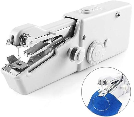 N/A NA - Mini máquina de coser de mano portátil, set de costura ...