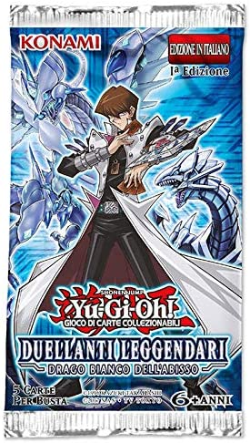 Legendary Duelists: White Dragon Abyss - 5 Cards Booster Pack (IT ...