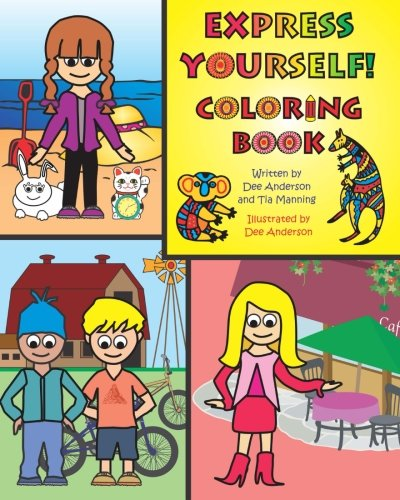 EXPRESS YOURSELF Coloring Book