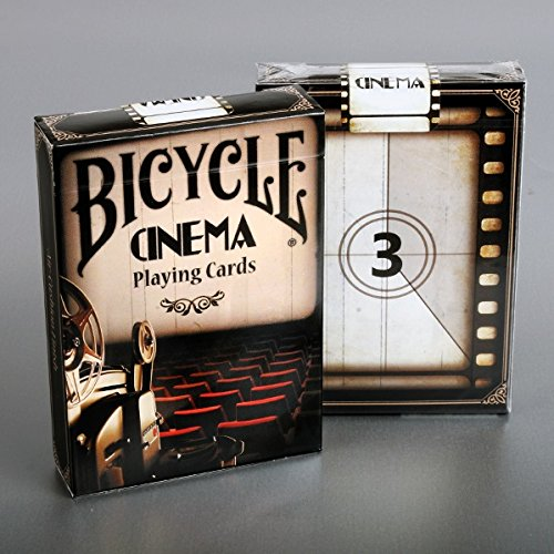 - Bicycle Cinema Playing Cards Deck Collectable Playing Cards Poker Multi