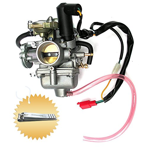 Carburetor for Honda Helix CN250 CF250 CH250 China Scooter Moped Atv Go Karts 250cc Engine Motor by Amhousejoy -