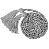"GraduationMall Graduation Honor Cord 68"" Grey"