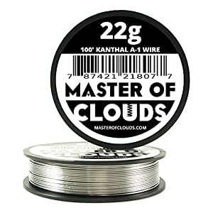 100 ft 22 gauge kanthal a1 resistance wire from master of clouds 100 ft 22 gauge kanthal a1 resistance wire from master of clouds greentooth Gallery