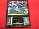 Yankees Derek Jeter 2 Card Collector Plaque w/ 8x10 Photo LAST CAREER AT BAT 2014
