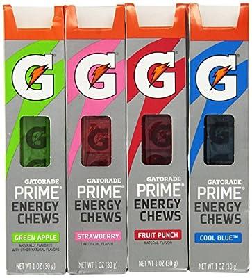 Gatorade G Series 01 Prime Energy Chews Mixed 4 Pack