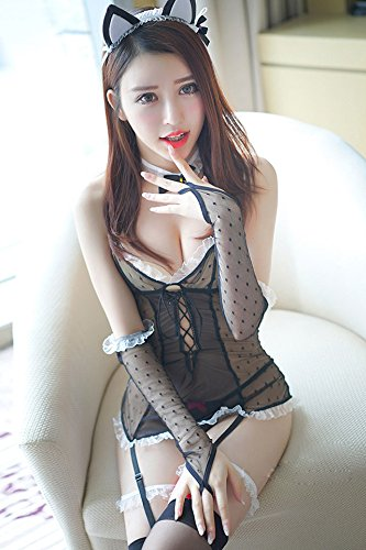 Generic Fei Mu Sexy Lingerie Sexy Adult Cat Girl Bunny Suit Uniforms Temptation To Strap Women
