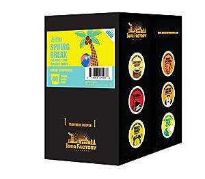 Java Factory Single Cup Coffee for Keurig K Cup Brewers
