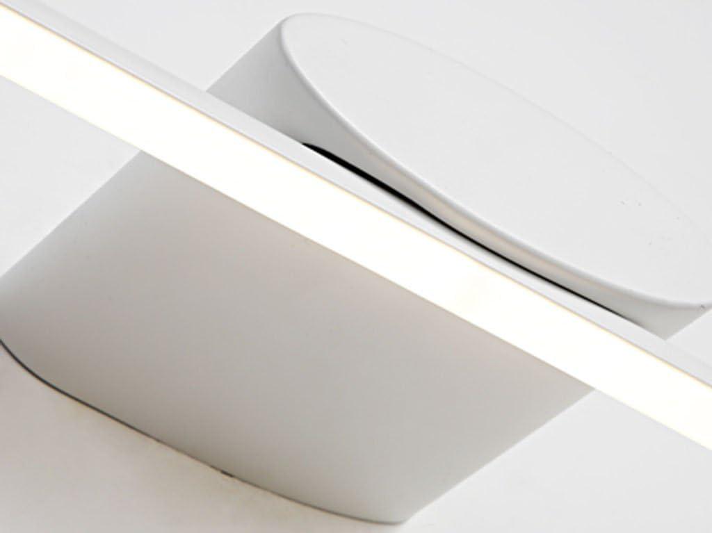 Jingguideng Spiegelfrontleuchte LED Spiegelschrankleuchte Badezimmer Wasserdichte Anti-Fog Lampe Moderne Wandlampe Make-up Lampe (Color : White light-80cm) White Light-100cm