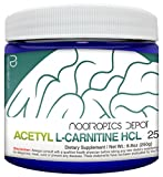 Cheap Acetyl L-Carnitine Powder | HCL Form | 250 Grams | ALCAR | Amino Acid Supplement | Energy Supplement | Supports Mitochondrial Function, Weight Loss, and Healthy Aging
