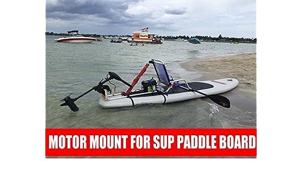 Kayak Trolling Motor eléctrico para Stand Up SUP - Tabla de paddle Motor Junta/Kayak: Amazon.es: Deportes y aire libre