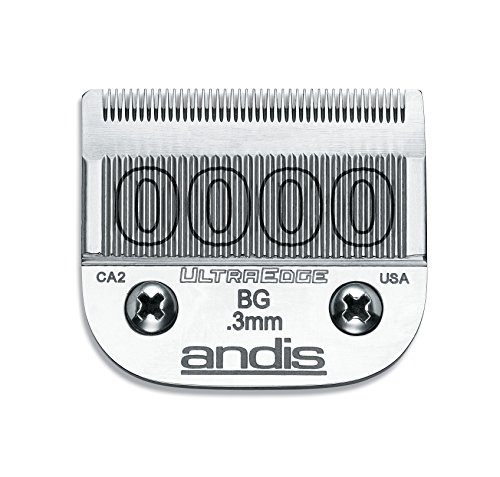 andis-carbon-infused-steel-ultraedge-dog-clipper-blade-size-0000-1-100-inch-cut-length-64074