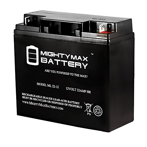 ML22-12 - 12V 22AH Schumacher DSR ProSeries PSJ-2212 Jump Starter Booster Battery - Mighty Max Battery brand product