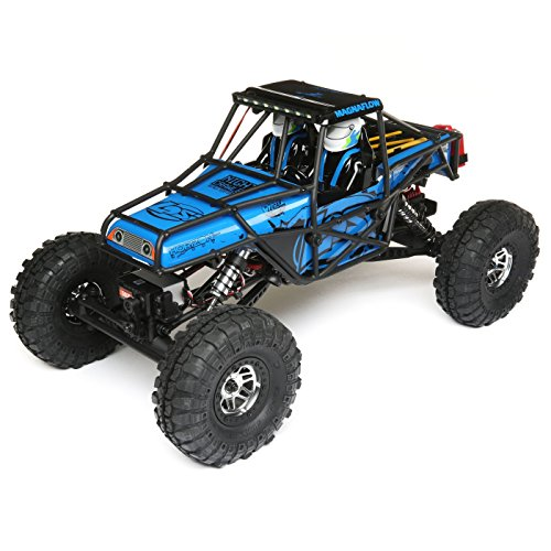 Losi Comp Crawler - Losi 1/10 Night Crawler SE 4WD RC Rock Crawler Brushed RTR with 2.4GHz FHSS Tx/Rx & LED Lights (Battery & Charger Not Included), Blue