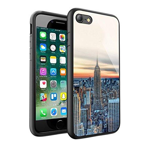 iPhone X Hülle, einzigartige Custom Design Prodective harte zurück dünner dünner Fit PC Bumper Case Kratzfeste Abdeckung für iPhone X - NEW YORK 0040