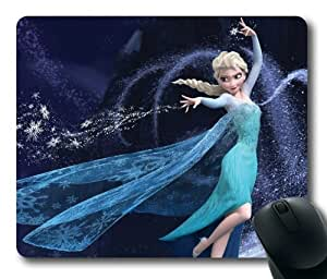 Customizablestyle Elsa of Frozen Cartoon Movie Mousepad, Customized Rectangle DIY Mouse Pad